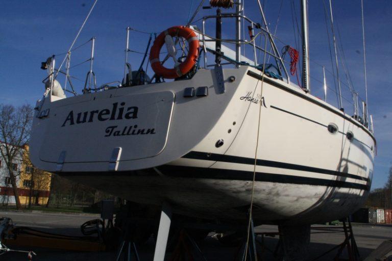 Aurelia hooldamine ja poleerimine