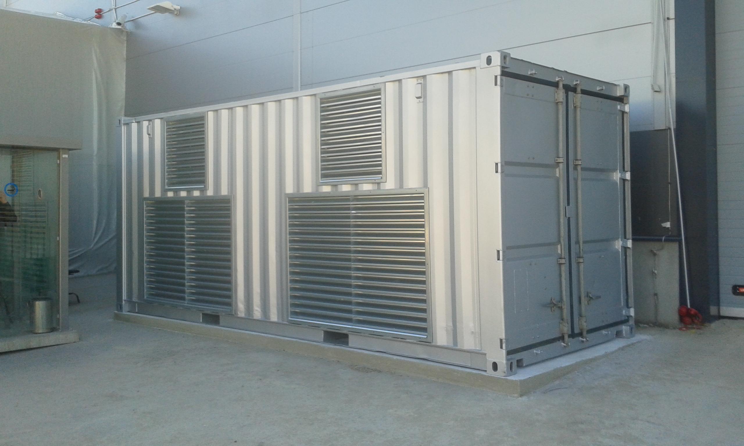 konteineri disainimine ja uuendamine