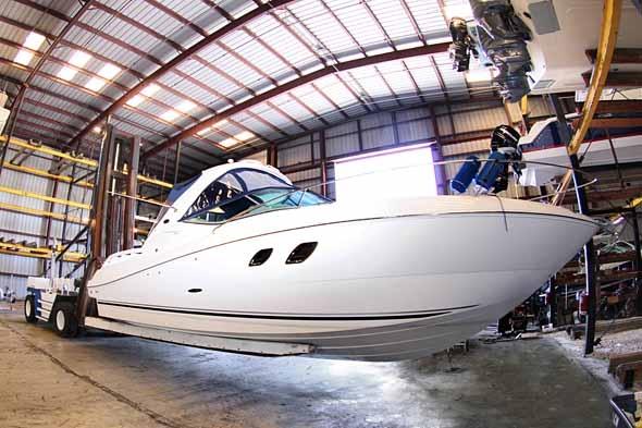 Väikelaeva, paadi poleerimine ja hooldus