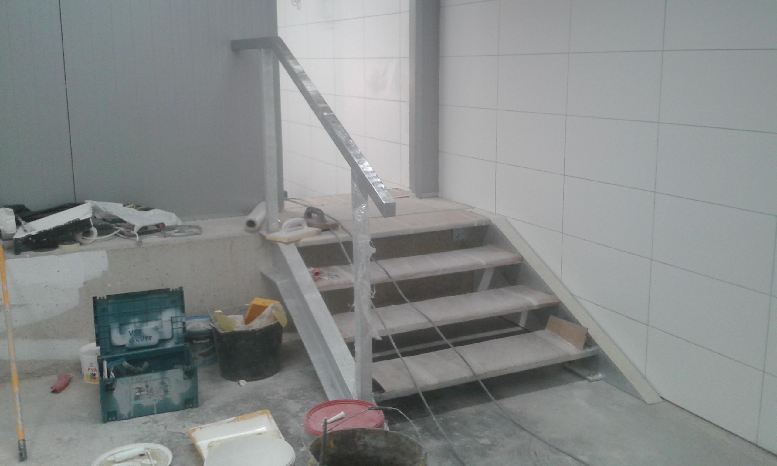 trepi ja käsipuu valmistamine